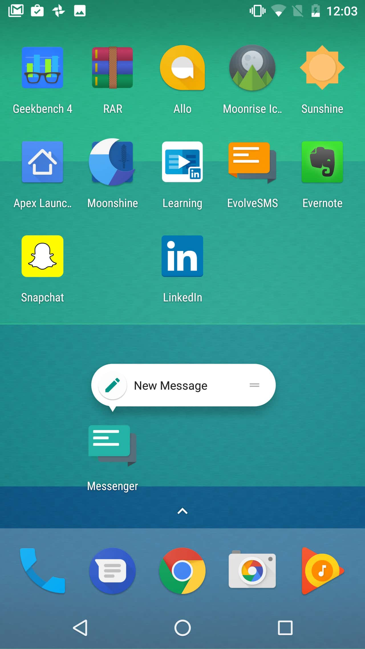 non-Google apps with Android Nougat launcher shortcuts