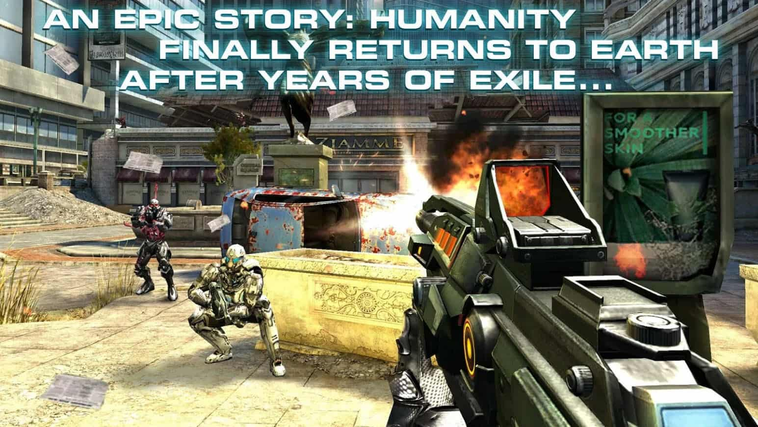 Android and iOS games like Call Of Duty