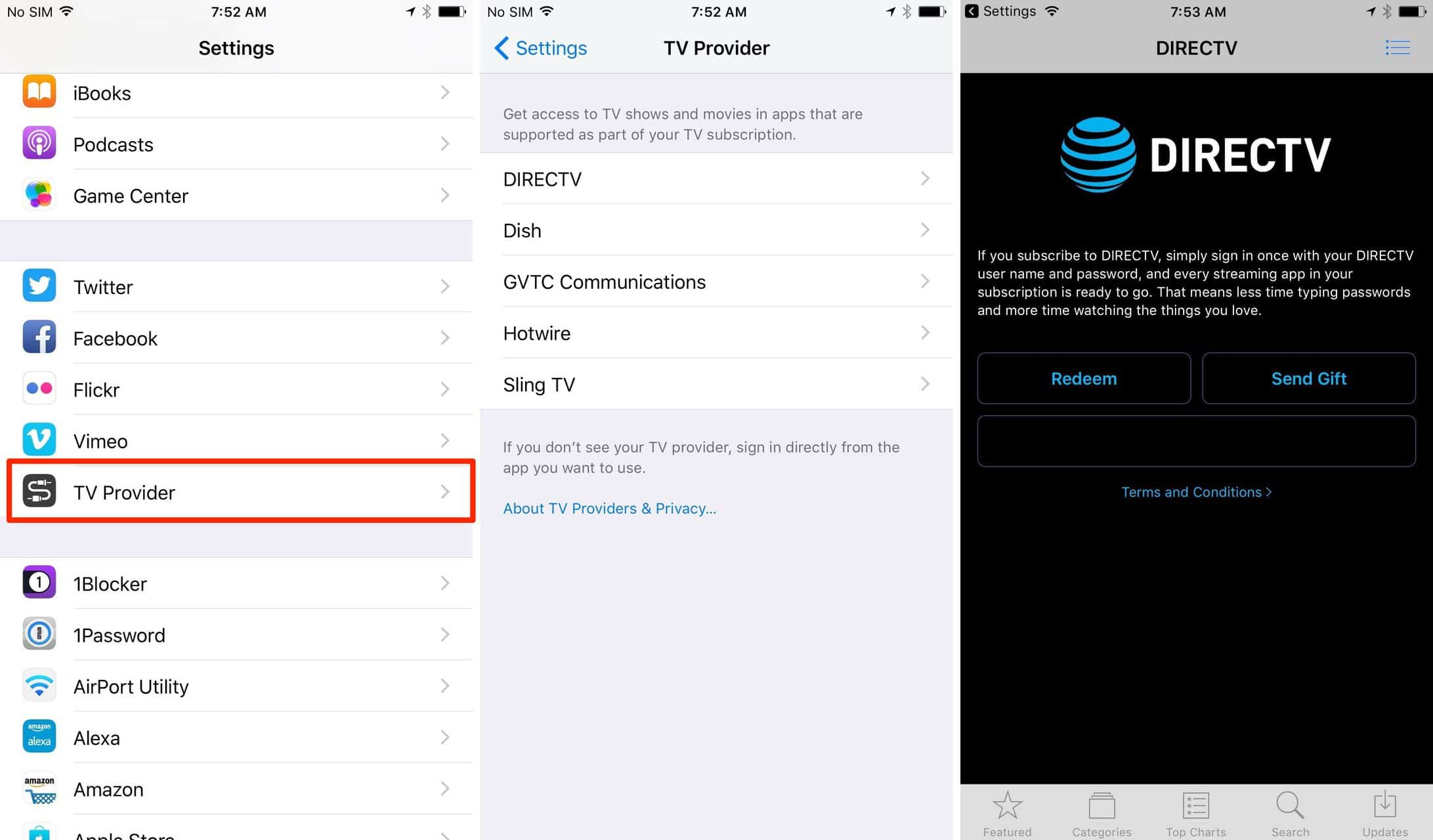 enable Single Sign-On for iPhone or iPad