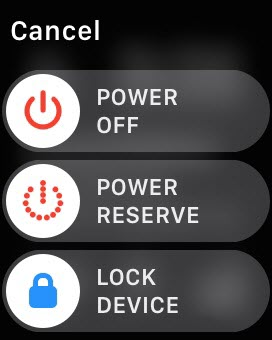 How To: Enable Apple Watch Power Reserve Mode