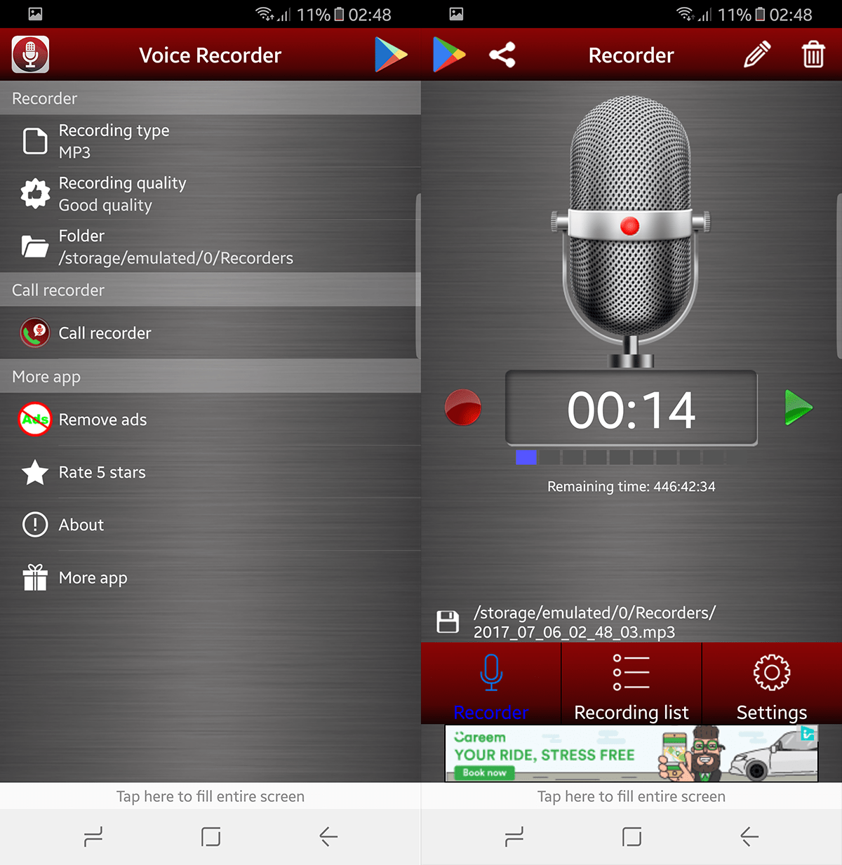 Best Android voice recording apps