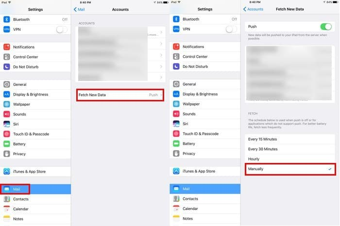 increase your iPad's battery life