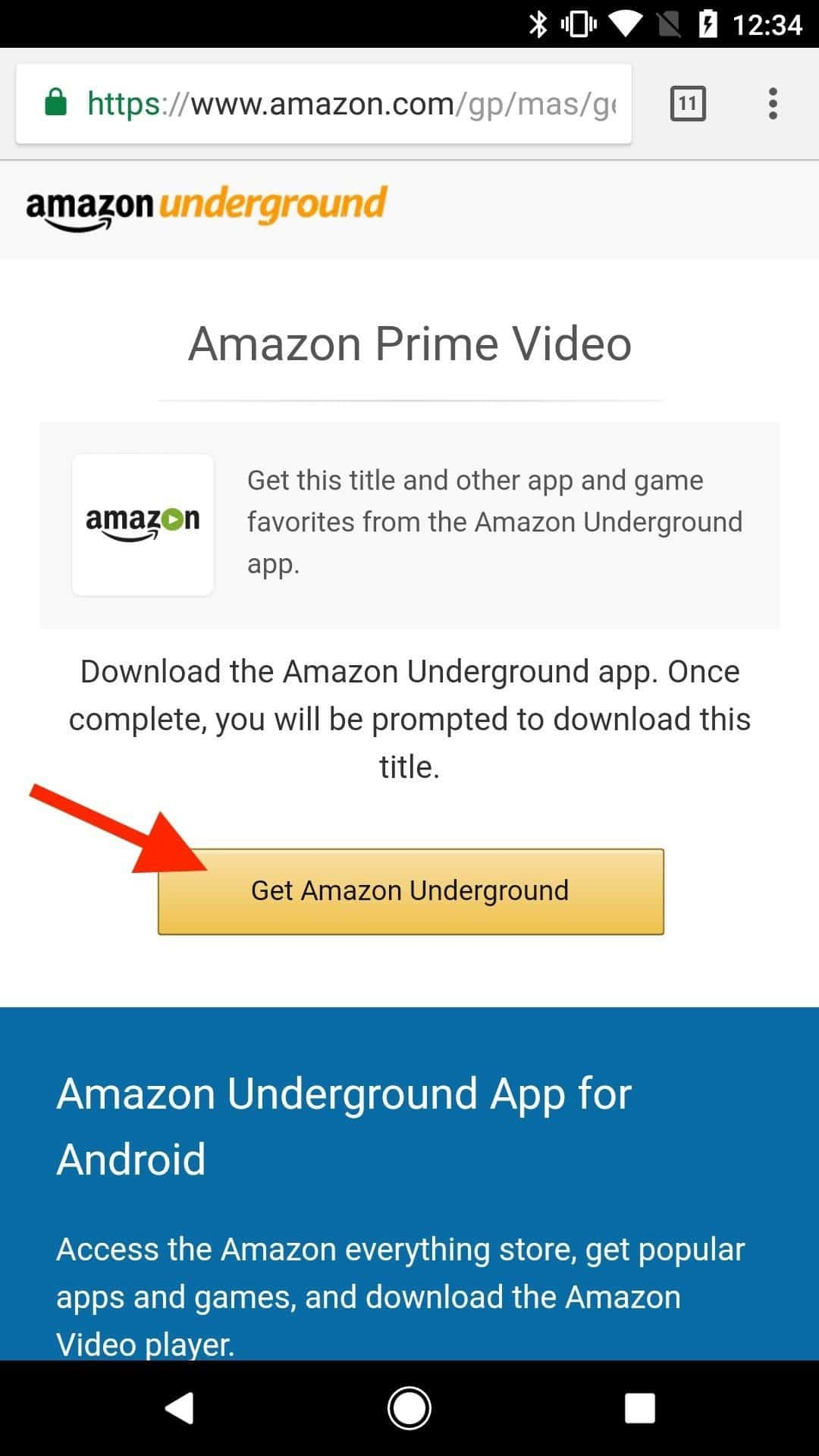 you can i watch amazon prime movies on my android phone you