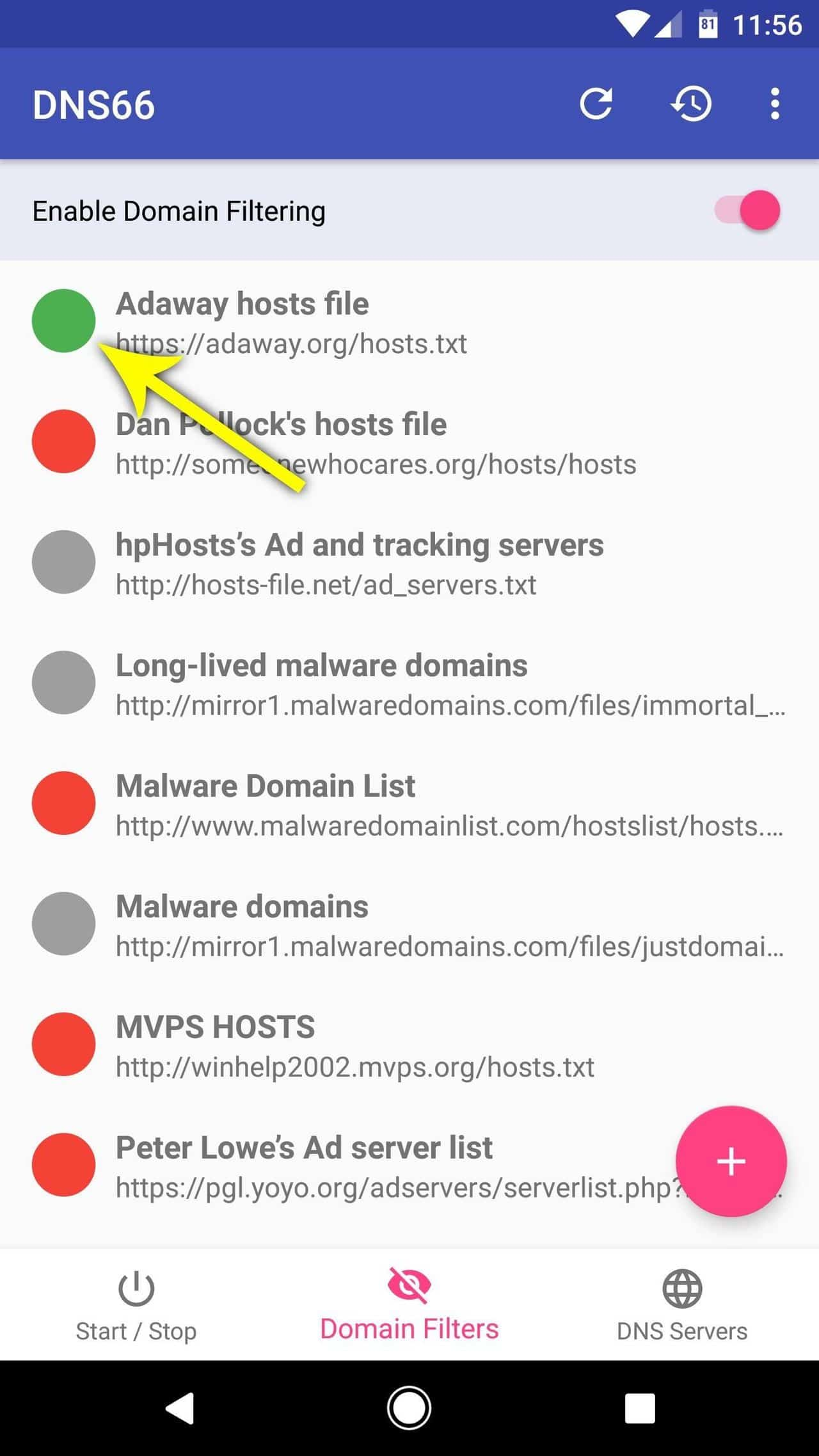 block all ads on Android