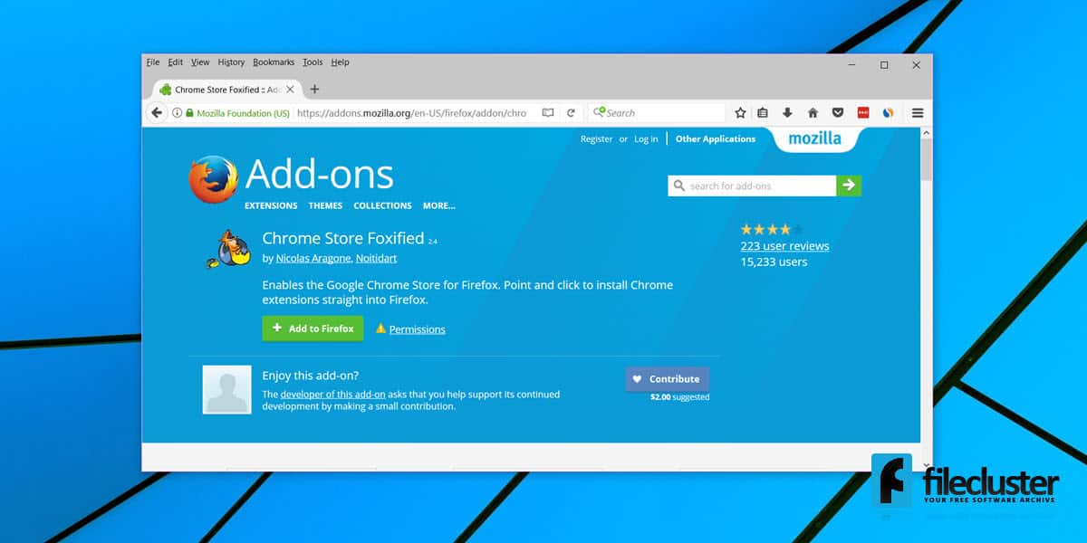 How To Install Chrome Extensions on Firefox