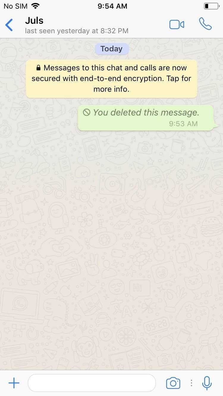 how to search in whatsapp conversation