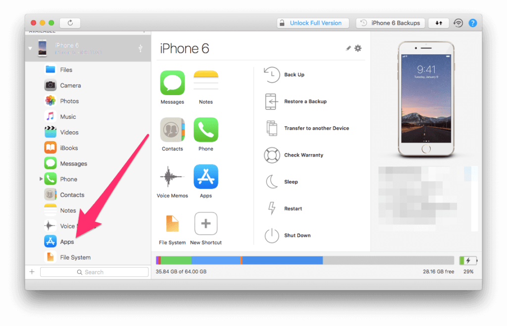 How To Backup & install apps on iPhone or iPad from your PC