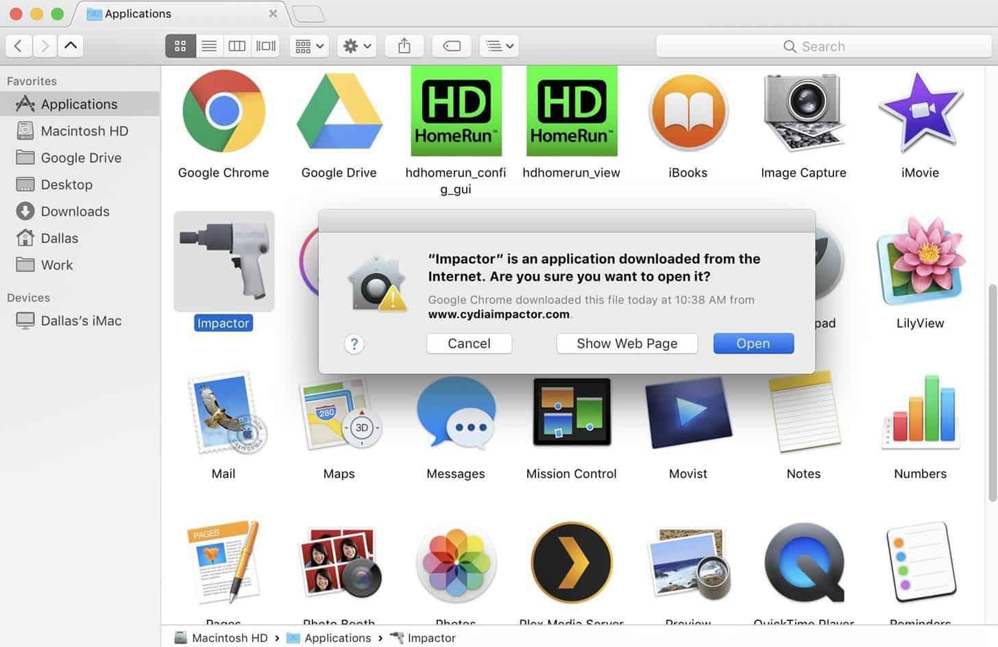 how to open kodi on mac
