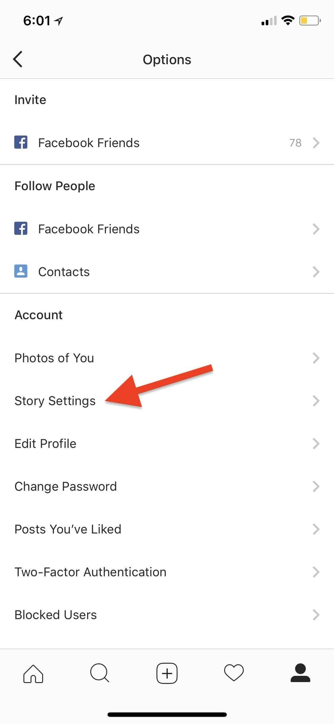 how to delete archived stories on instagram