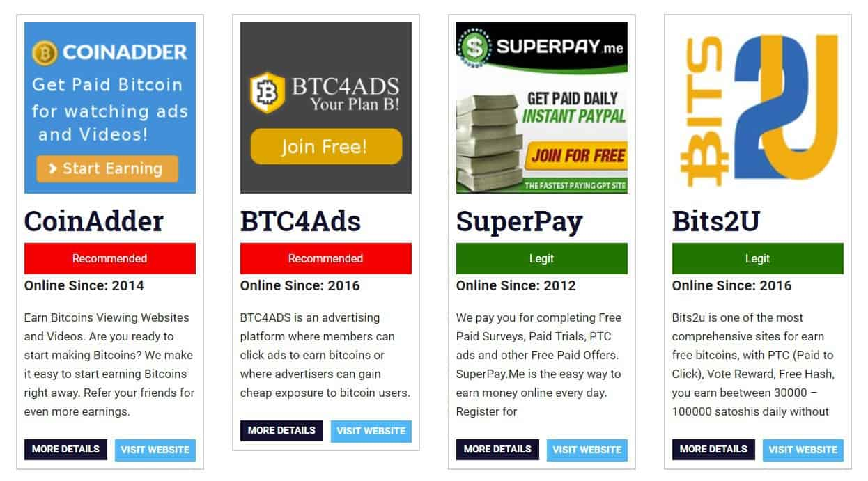 Best Free Bitcoin Sites How To Make Money With Bitcoin -