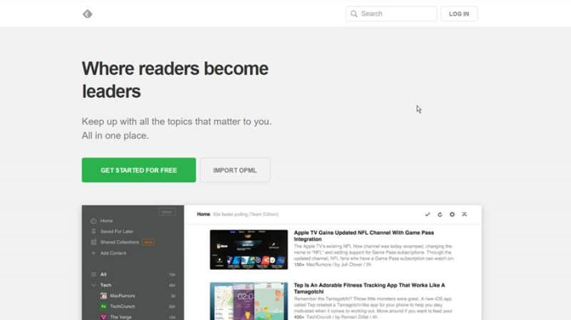 how to access blocked websites with RSS feed reader